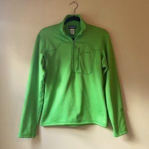Patagonia Men's R1 Fleece Pullover Green - XS
